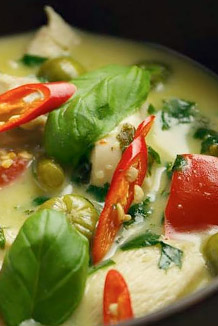Thai food nights at Ye Olde Red Lion