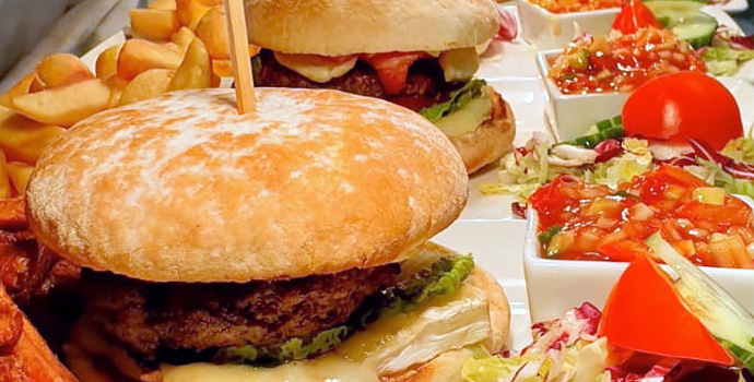 Gourmet Burger nights at Ye Old Red Lion