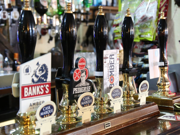 Selection of Real Ales Market Bosworth